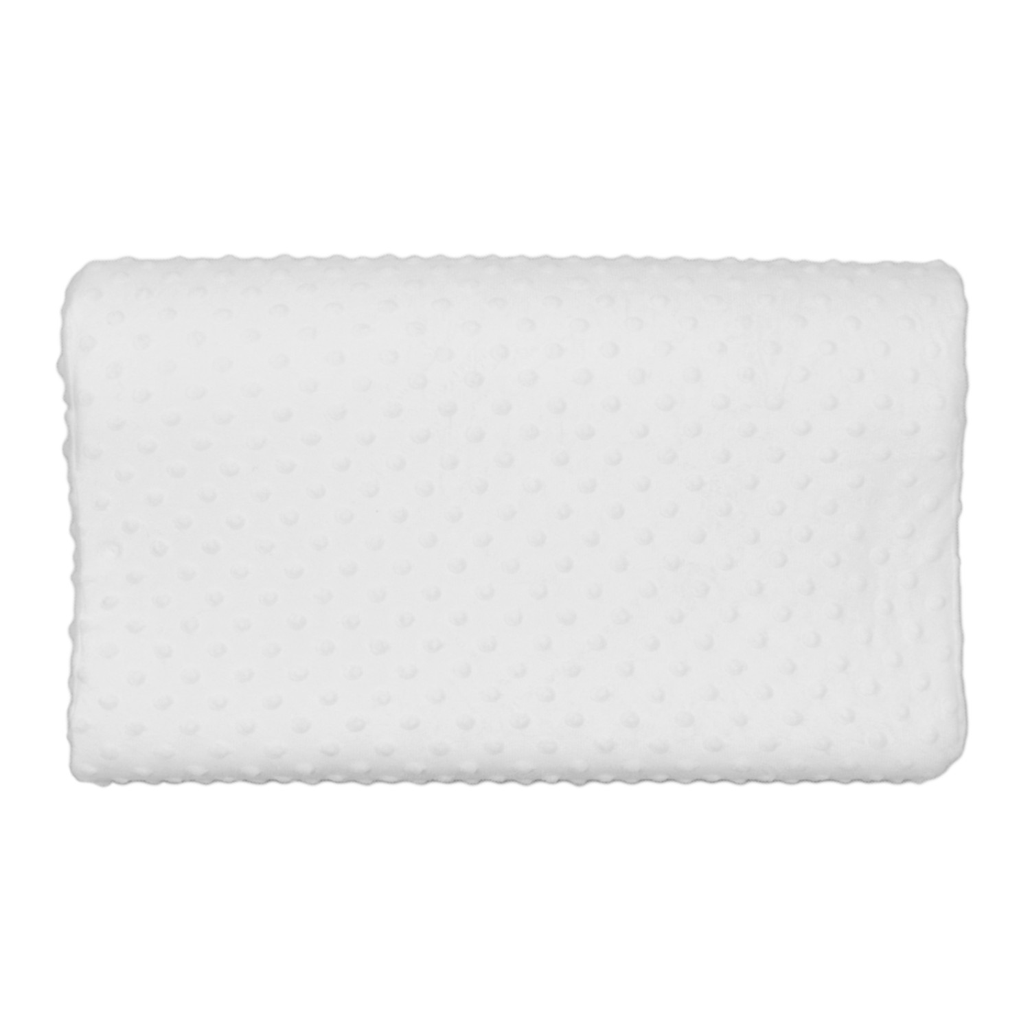 contoured memory foam pillow top