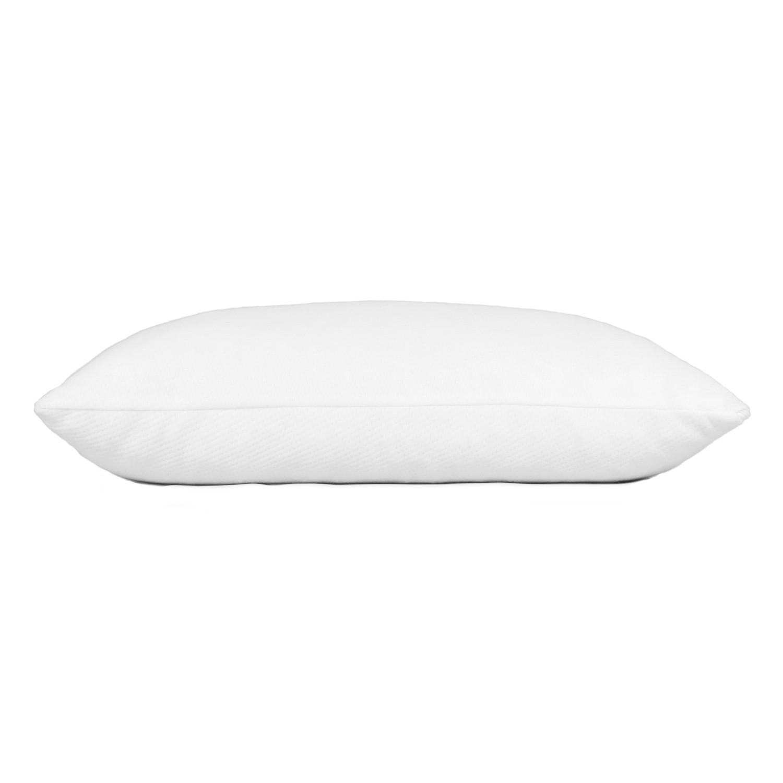 shredded memory foam pillow front