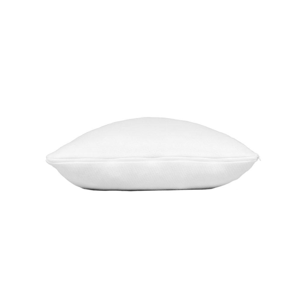 shredded memory foam pillow side 2
