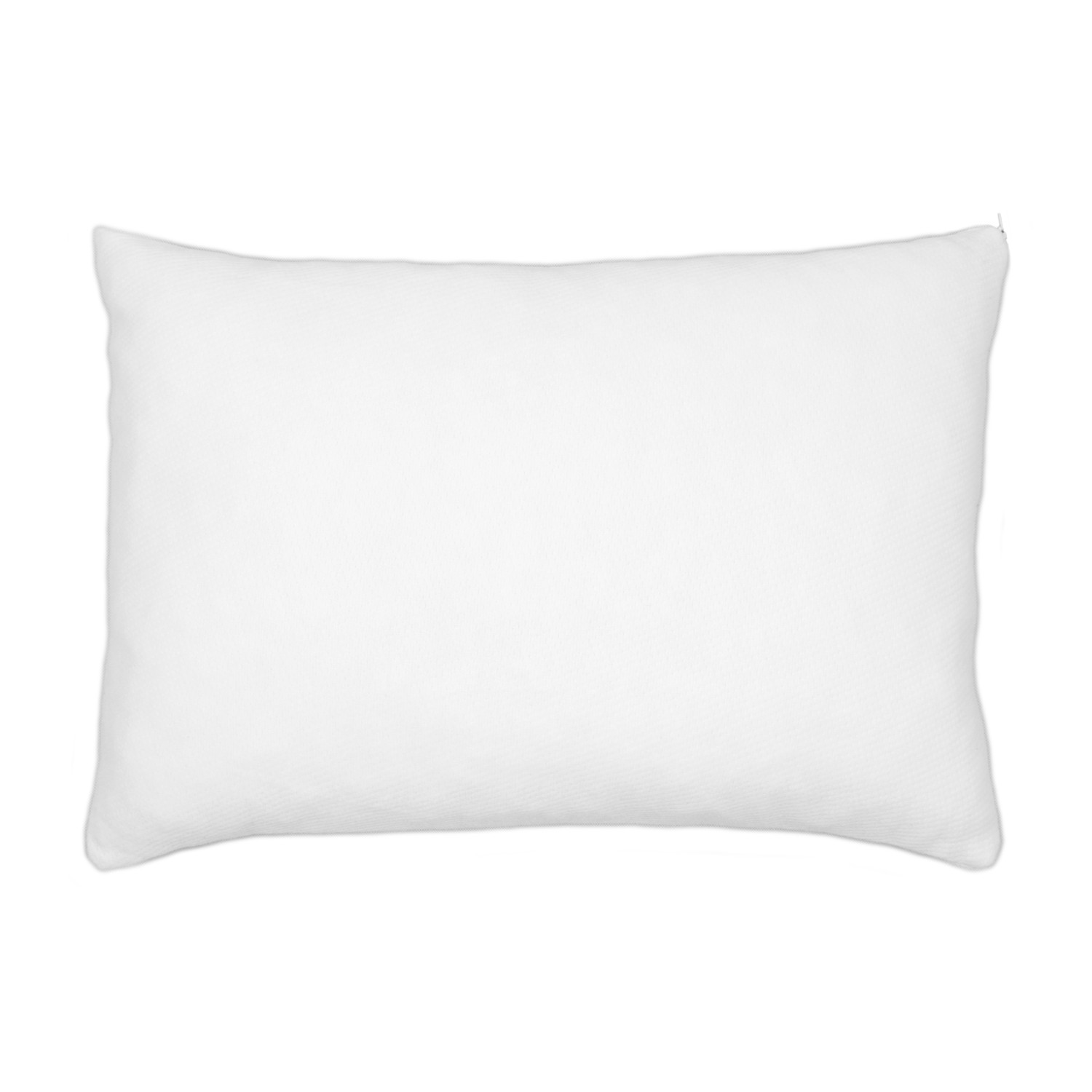 shredded memory foam pillow top